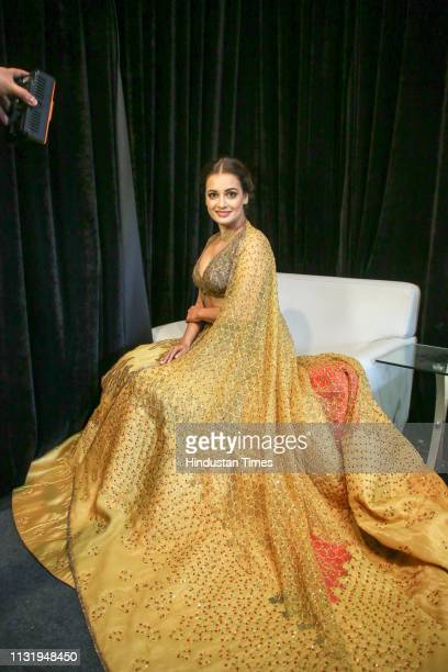 Bollywood actor Dia Mirza poses during an interview with HT CityHindustan Times at Jawahar Lal Nehru Stadium on March 15 2019 in New Delhi India