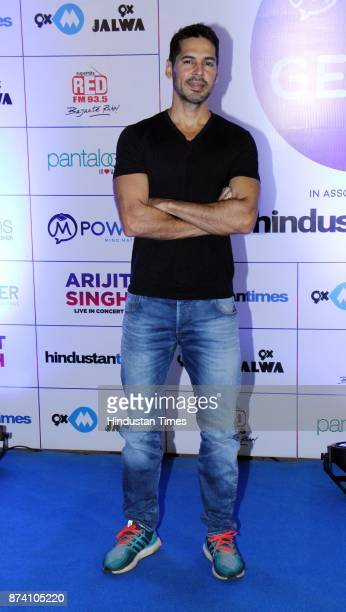 Bollywood Actor Dino Morea during Bollywood singer Arijit Singh Live in concert at MMRDA Grounds BKC on November 12 2017 in Mumbai India