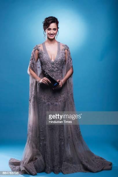 Bollywood actor Disha Patani poses at Hindustan Times Most Stylish Awards 2017 Taj Lands End Bandra on March 24 2017 in Mumbai India