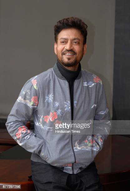 Bollywood actor Irrfan Khan during an exclusive interview with HT CityHindustan Times for the promotion of his upcoming movie Qarib Qarib Singlle at...