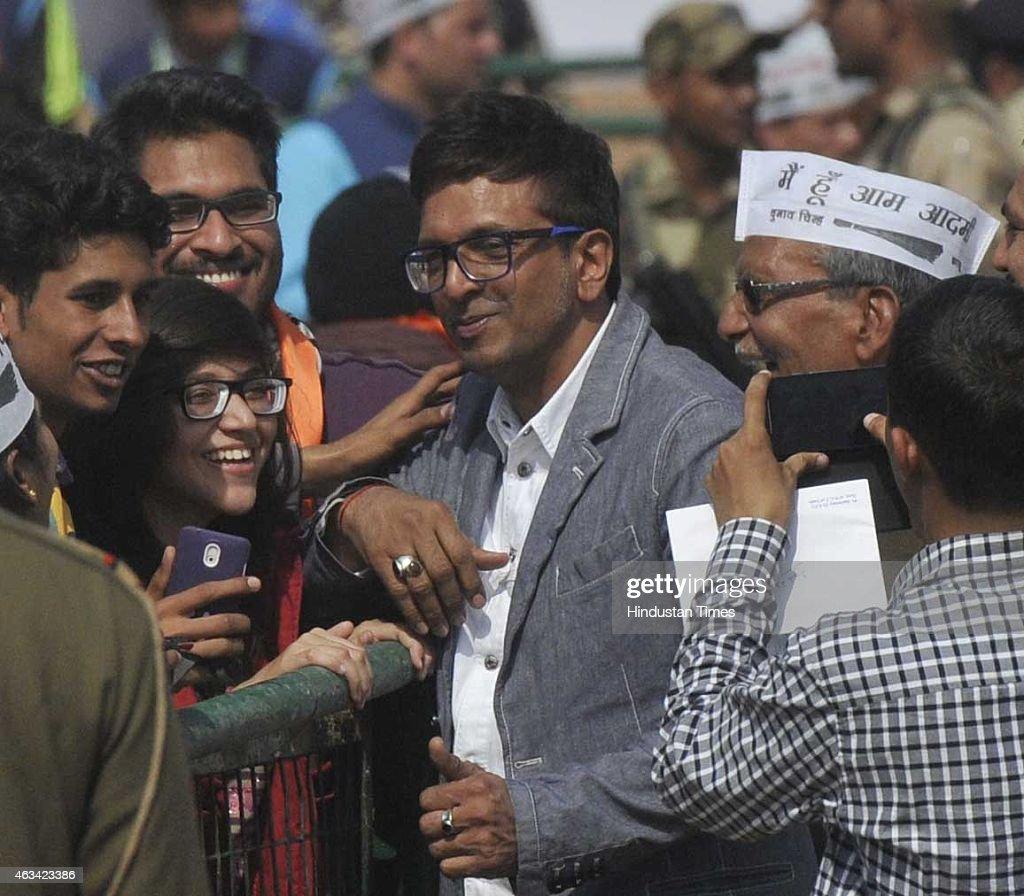 AAP National Convener Arvind Kejriwal Takes Oath As Delhi Chief Minister