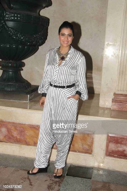 Bollywood actor Kajol Devgn spotted on August 21 2018 in Mumbai India