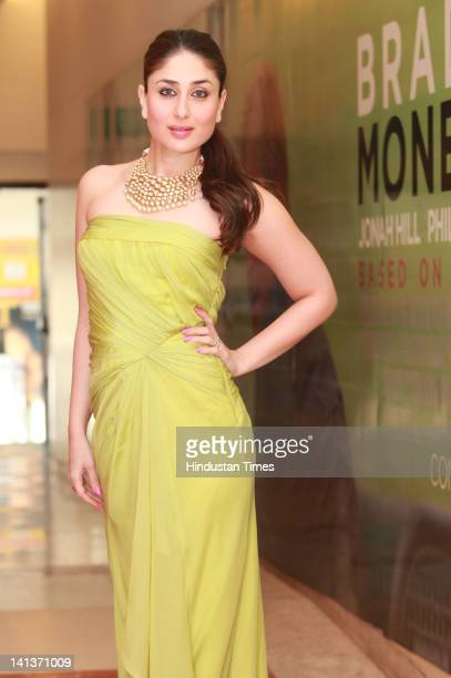 Bollywood actor Kareena Kapoor during a photoshoot on February 12 2012 in New Delhi India