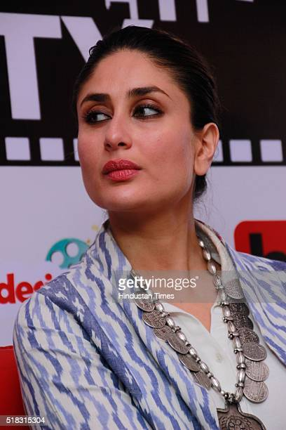 Bollywood actor Kareena Kapoor Khan during an exclusive interview with HT CityHindustan Times for the promotion of upcoming movie 'Ki Ka' at HT Media...