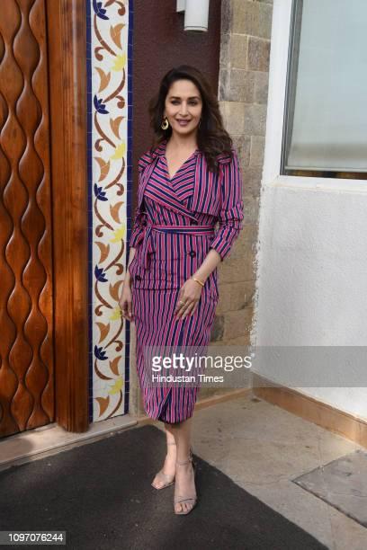Bollywood actor Madhuri Dixit Nene spotted on February 7 2019 in Mumbai India