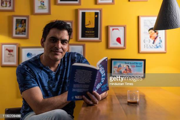 Bollywood actor Manav Kaul poses during an exclusive interview with Hindustan Times at his residence at Versova on February 22 2019 in Mumbai India