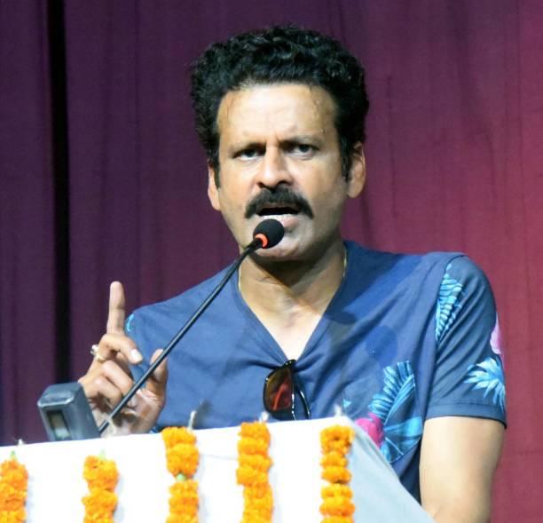 IND: Bollywood Actor Manoj Bajpayee Visits Kalidas Rangalya In Patna