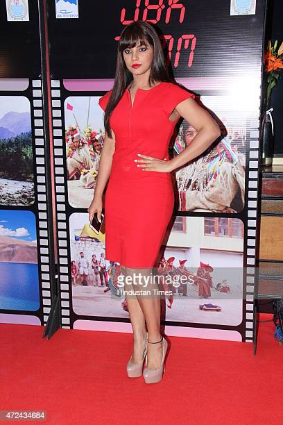Bollywood actor Neetu Chandra during an event organised by Jammu and Kashmir government to promote JK as a prime tourist destination and a shooting...