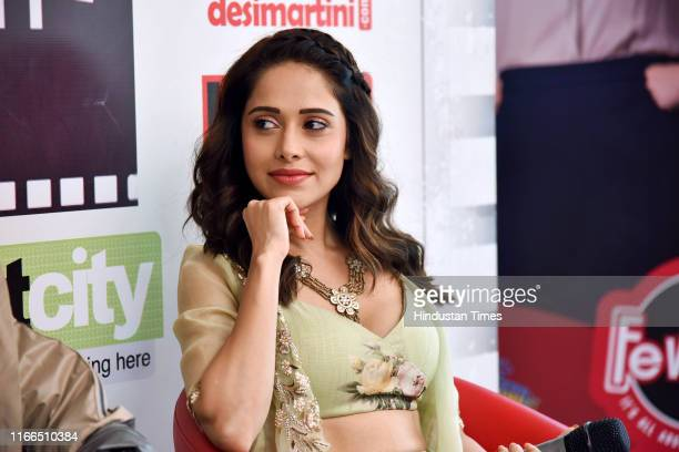 Bollywood actor Nushrat Bharucha during an exclusive interview with HT CityHindustan Times for the promotion of their film 'Dream Girl' at HT Media...