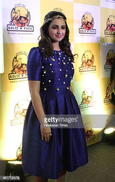 Bollywood actor Parineeti Chopra during the launch of KPDL Mobile App Customer Connect and Partner Connect on January 16 2015 in Mumbai India