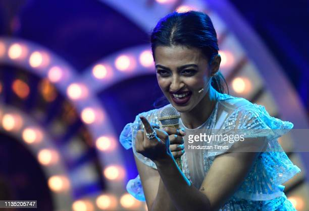 Bollywood actor Radhika Apte during the Hindustan Times India's Most Stylish Awards 2019 at St Regis on March 29 2019 in Mumbai India