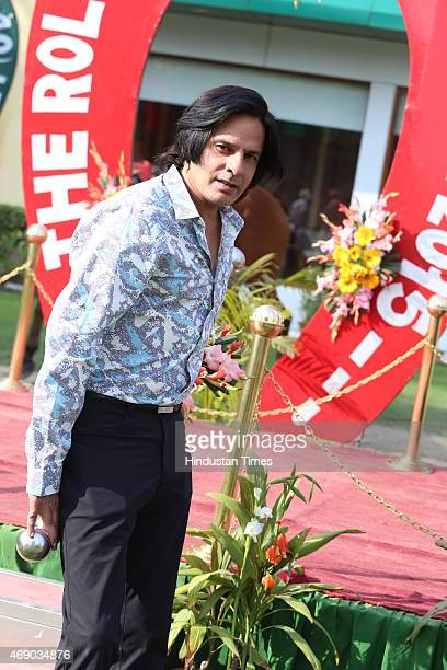 Bollywood actor Rahul Roy during the Rolli Stud Farm Million Cup and showcasing of Designer Preety Singhal latest collection Violet at Delhi Race...
