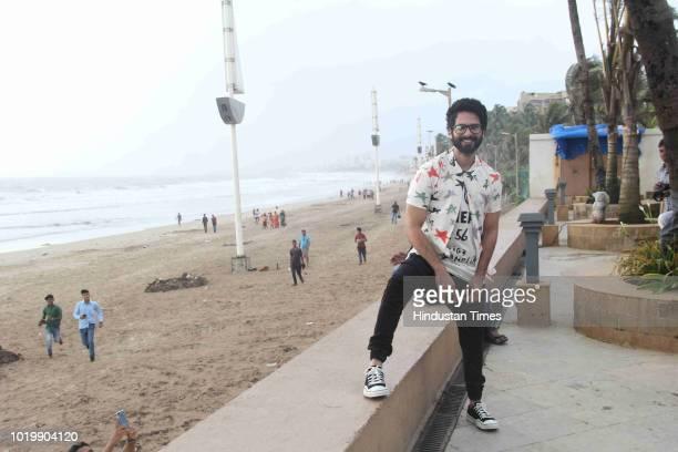 Bollywood actor Rajkummar Rao spotted on August 18 2018 in Mumbai India