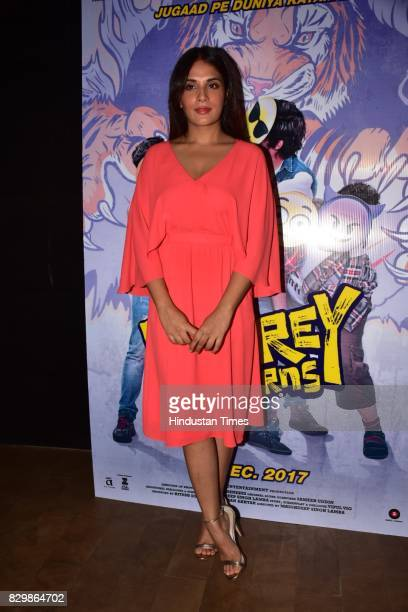 Bollywood actor Richa Chadda during the special preview of upcoming film Fukrey Returns on August 8 2017 in Mumbai India Fukrey Returns is an...