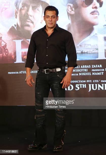 Bollywood actor Salman Khan spotted on May 18 2019 in Mumbai India