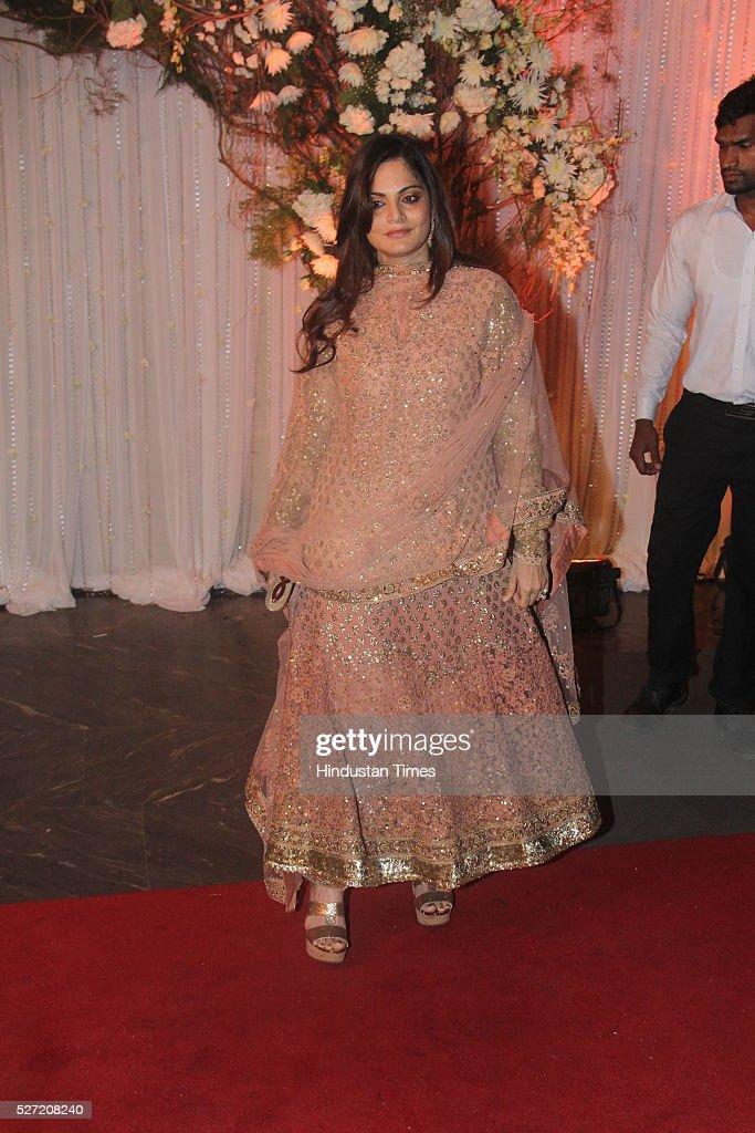 Bollywood actor Salman Khan's elder sister Alvira Khan at ...
