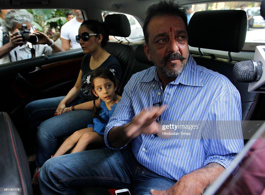 Bollywood Actor Sanjay Dutt Returns To Jail