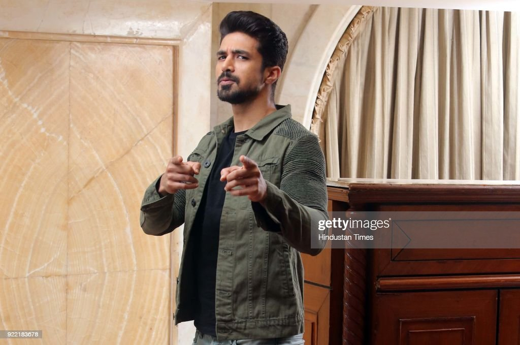 Bollywood actor Saqib Saleem Qureshi poses during an exclusive interview with HT City-Hindustan Times for the promotion of upcoming movie Dil Juunglee, at Hotel Royal Plaza, Ashoka Road, on February 10, 2018 in New Delhi, India. During an interview, Actor Saqib Saleem, says that the struggle to become an actor was relatively easier for him than others.