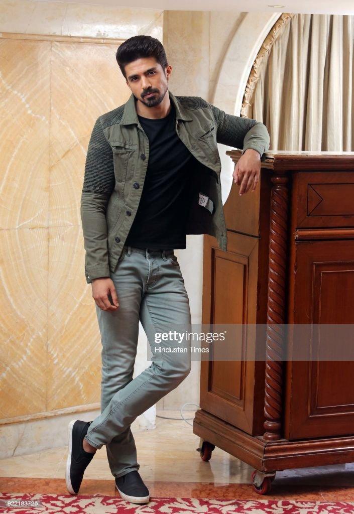 Profile Shoot Of Bollywood Actor Saqib Saleem Qureshi : News Photo