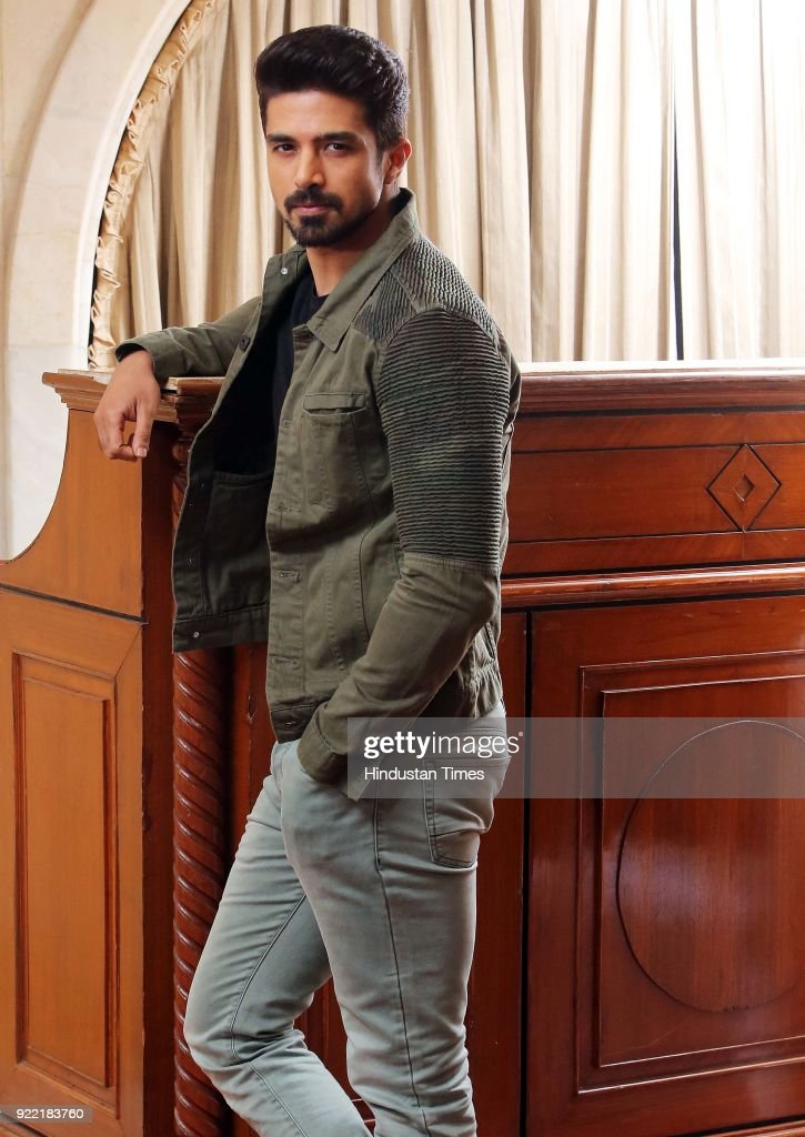 Profile Shoot Of Bollywood Actor Saqib Saleem Qureshi : News Photo
