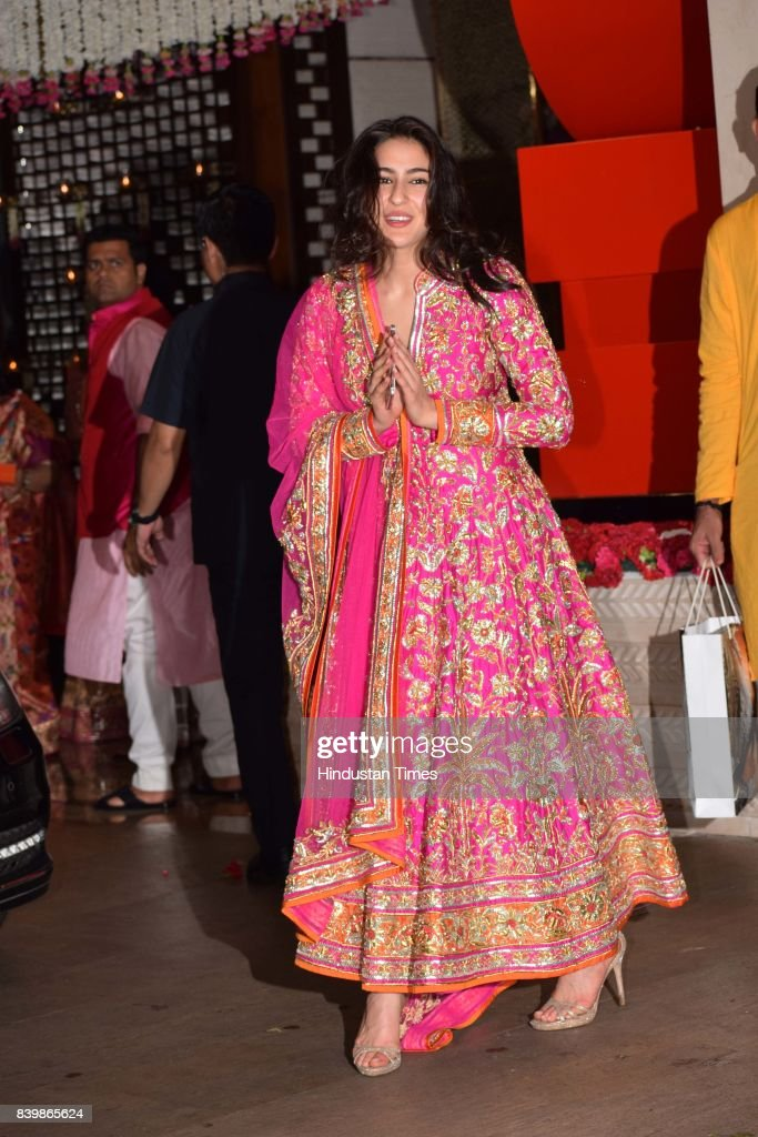 Bollywood Actors Celebrate Ganesh Chaturthi Festival : News Photo