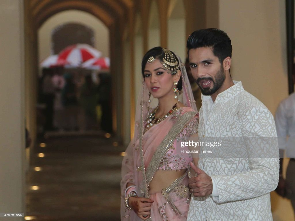 Wedding Ceremony Of Bollywood Actor Shahid Kapoor And Bride Mira Rajput In Gurgaon