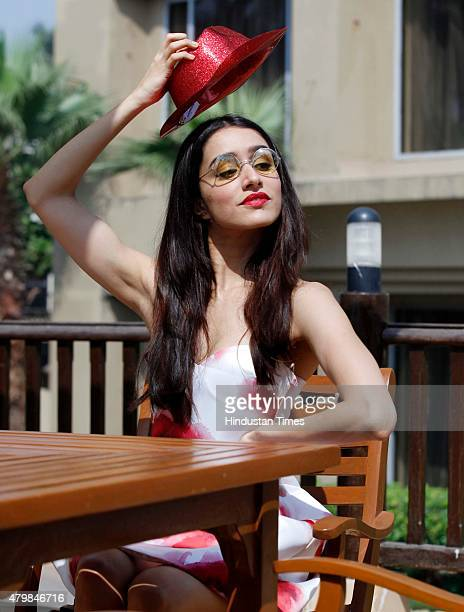 Bollywood actor Shraddha Kapoor poses for Valentine's Day special shoot at J W Marriott Juhu on February 11 2015 in Mumbai India