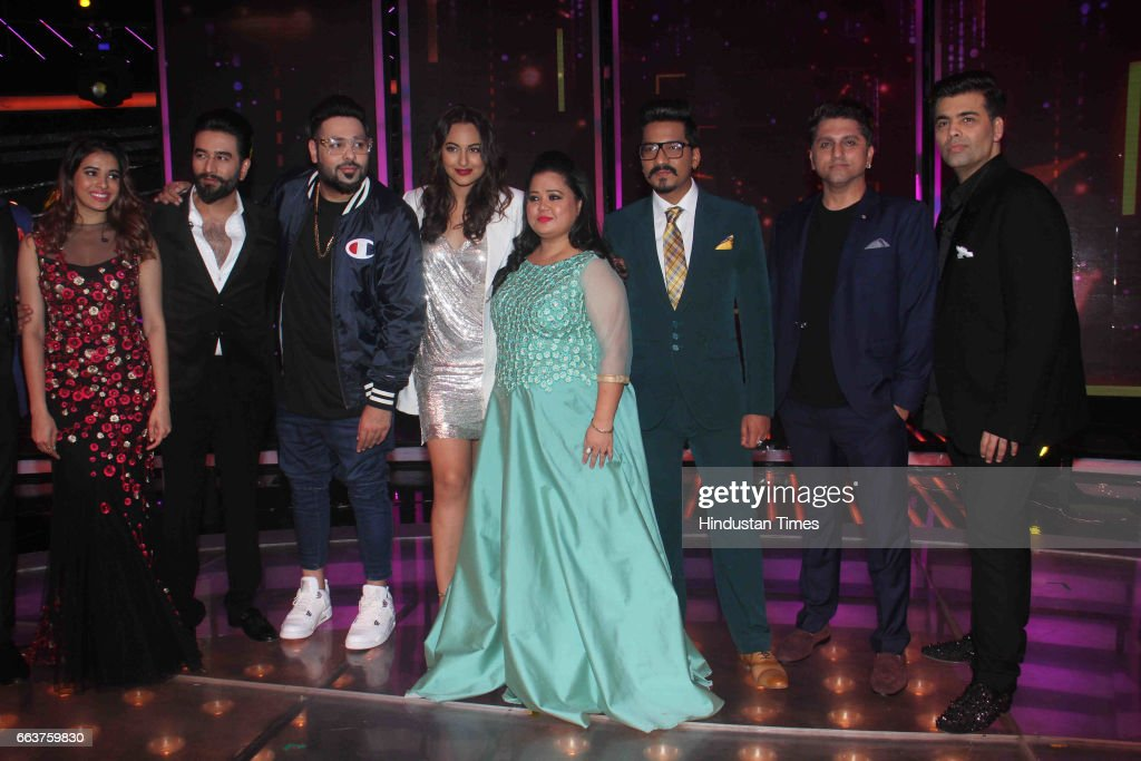Bollywood actor Sonakshi Sinha filmmakers Karan Johar Mohit Suri Standup comedian Bharti Singh singers Badshah Shekhar Ravjiani and Shalmali Kholgade.