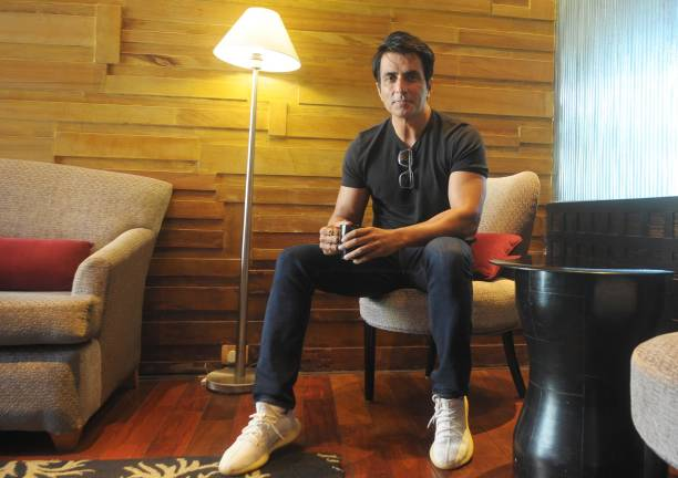 IND: Bollywood Actor Sonu Sood Interacts With Media At Taj Chandigarh Hotel