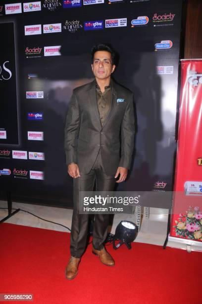 Bollywood actor Sonu Sood poses for the picture during Society Achiever Awards 2018 on January 14 2018 in Mumbai India