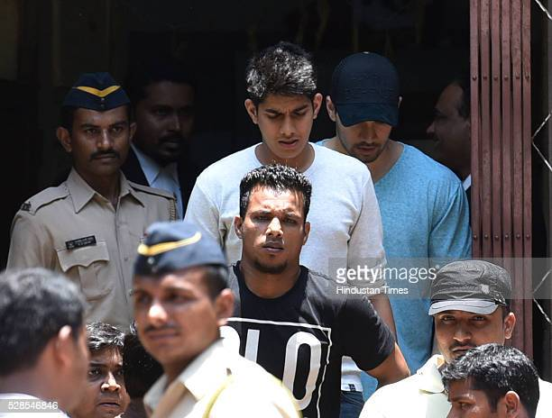Bollywood actor Sooraj Pancholi outside the Mumbai sessions court in the Jiah Khan Suicide case on May 5 2016 in Mumbai India The Bombay High Court...