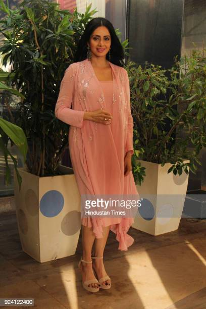 Bollywood actor Sridevi spotted on June 20 in Mumbai India Sridevi the actor wife of producer Boney Kapoor died late in the night reportedly due to...