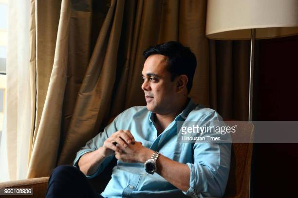 Bollywood actor Sumeet Raghavan poses during an exclusive interview with Hindustan Times for the promotion of Marathi movie 'Bucket List' on May 16...