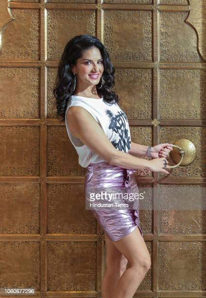 Bollywood actor Sunny Leone poses for a profile shoot on September 12, 2018 in New Delhi, India.