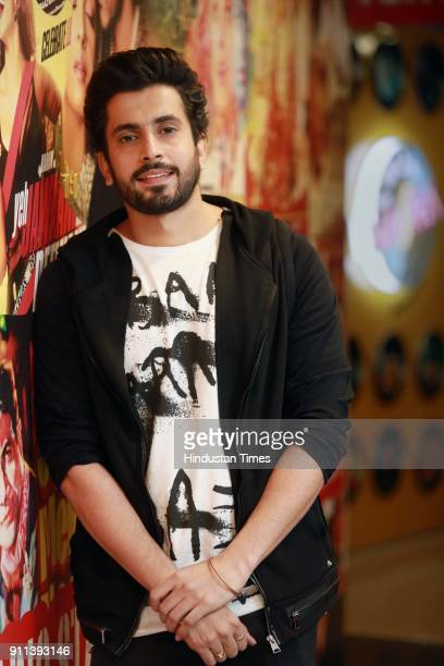 Bollywood actor Sunny Singh poses during an interview with HT CityHindustan Times for the promotion of upcoming movie 'Sonu Ke Titu Ki Sweety' at HT...