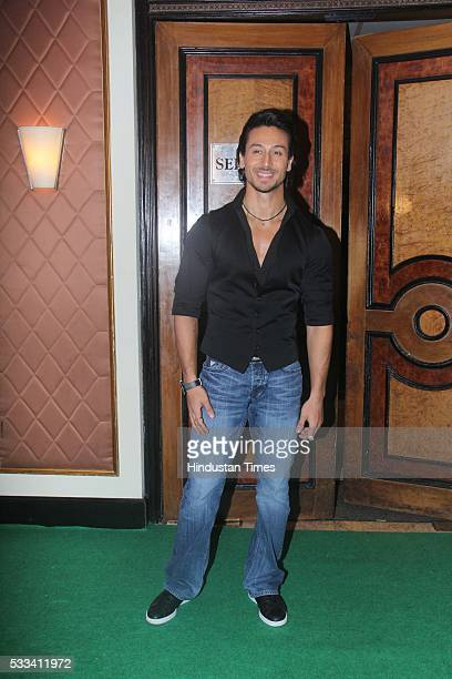 Bollywood actor Tiger Shroff during the press conference of 16th International Indian Film Academy Awards at Taj Lands End Bandra on May 20 2016 in...