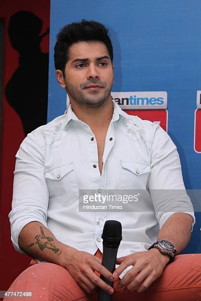 Bollywood actor Varun Dhawan during an exclusive interview with HT CityHindustan Times for the promotion of upcoming film 'ABCD 2' at HT Media Office...