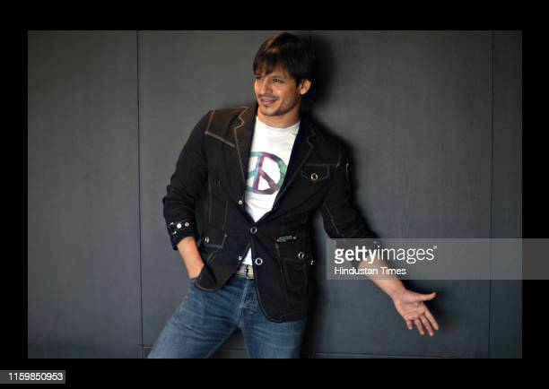 Bollywood actor Vivek Oberoi poses during his profile shoot on October 12 2007 in New Delhi India