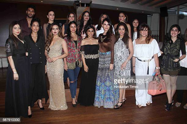 Bollywood actor Zoa Morani singer Kanika Kapoor actor Sarah Jane Dias filmmaker Krishika Lulla actors Sana Khan Mandana Karimi Fashion Designer Lucky...