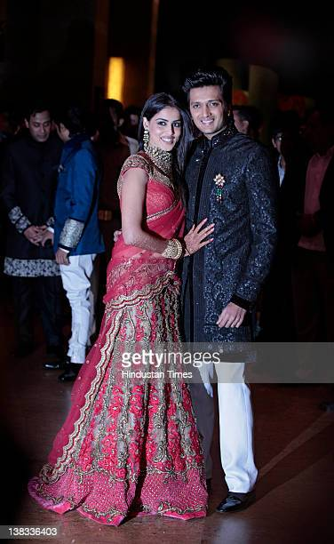Genelia D Souza And Ritesh Deshmukh Pictures And Photos Getty Images