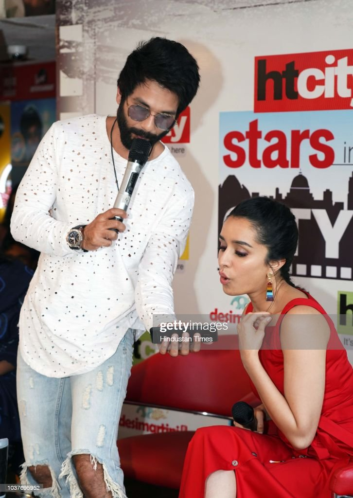 HT Exclusive: Bollywood Actors Shahid Kapoor And Shraddha Kapoor Promote Upcoming Movie Batti Gul Meter Chalu