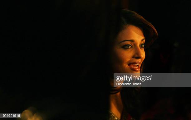 Bollywood actress Aishwarya Rai Bachchan during the promotion of her new film 'Jodhaa Akbar' in New Delhi