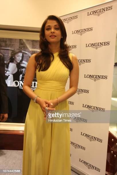 Bollywood actress Aishwarya Rai Bachchan photographed during an event on October 4 2008 in New Delhi India