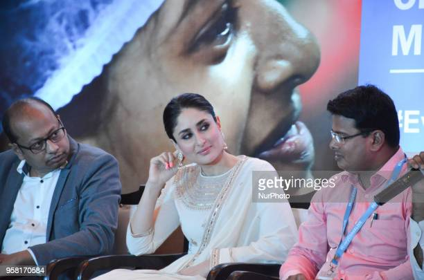 Bollywood actress and UNICEF Goodwill Advocate Kareena Kapoor Khan participates in a panel discussion promoting a campaign to support safe motherhood...