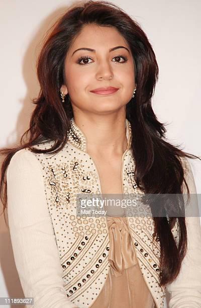 Bollywood actress Anushka Sharma at IPL Godrej Power Play launch in Mumbai