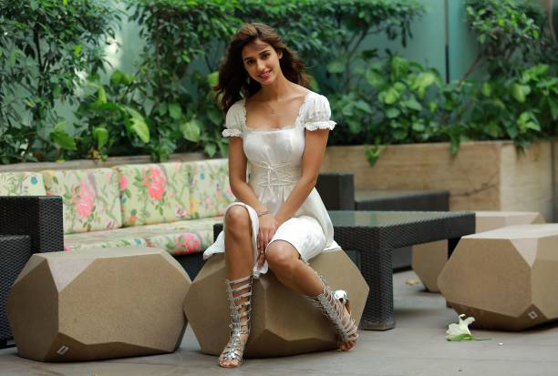 bollywood-actress-disha-patani-during-promotion-of-her-upcoming-movie-picture-id942025334