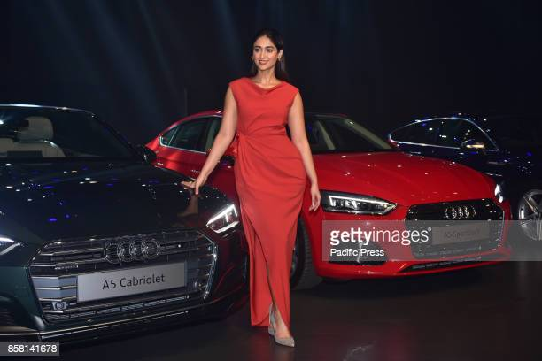 Bollywood actress Ileana D'Cruz launch the new Audi A5 series in India at hotel Sofitel Bandra in Mumbai