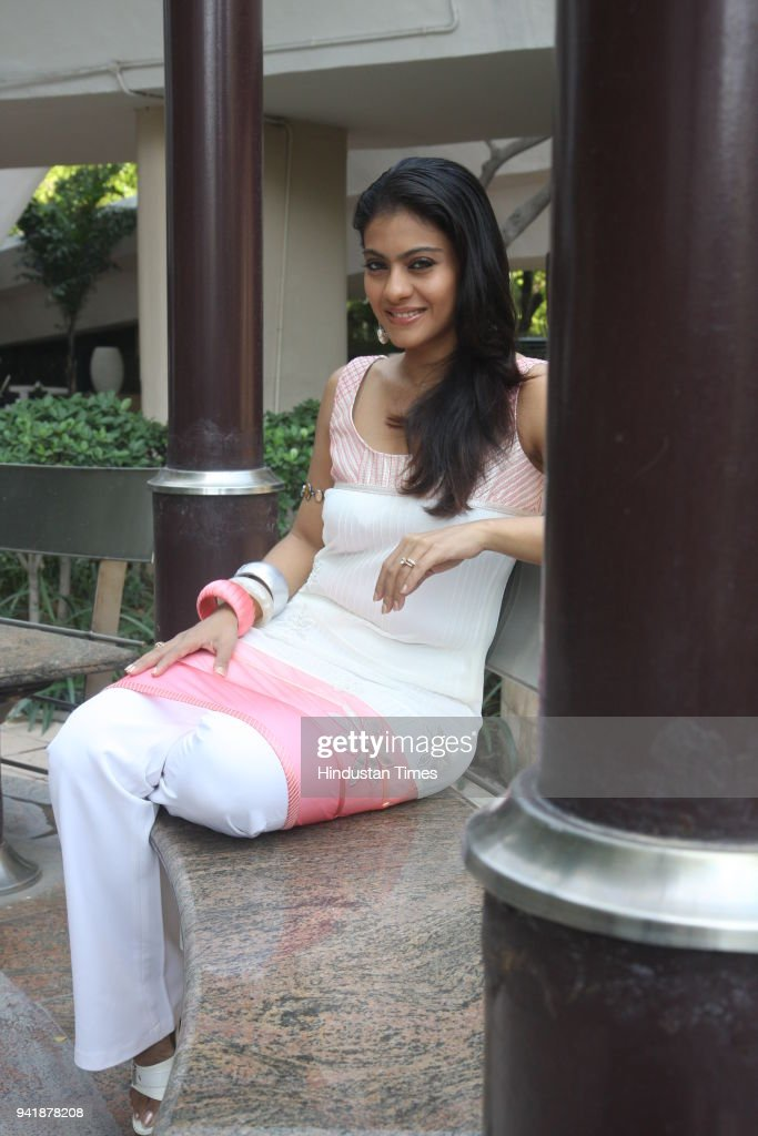 Bollywood actress Kajol during a photoshoot for HT City in New Delhi
