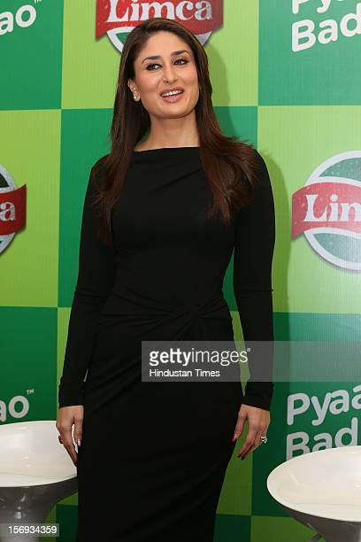 Bollywood actress Kareena Kapoor at the Limca's Meet and Greet with Kareena event on November 20 2012 in New Delhi India
