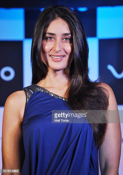 Bollywood actress Kareena Kapoor poses during the unveiling of the Vaio E Series 'Go Vivid' laptops in Mumbai on June 8 2010